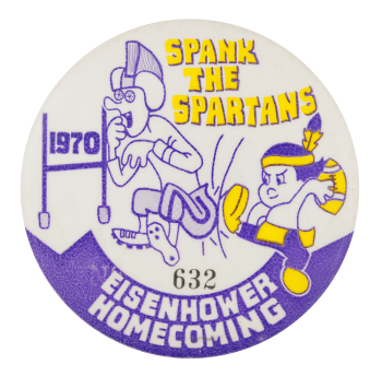 Spank the Spartans Event Button Museum