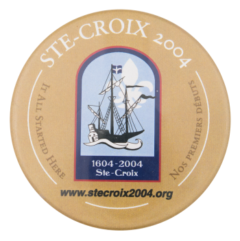 Ste-Croix 2004 Events Button Museum