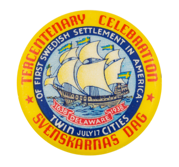 Tercentenary Celebration Event Button Museum