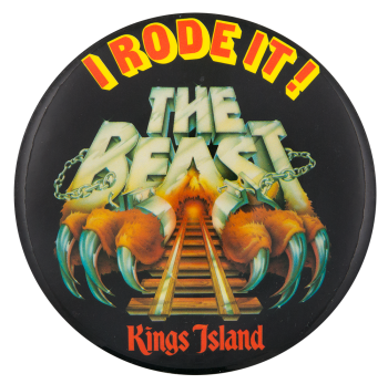 The Beast Kings Island Event Button Museum