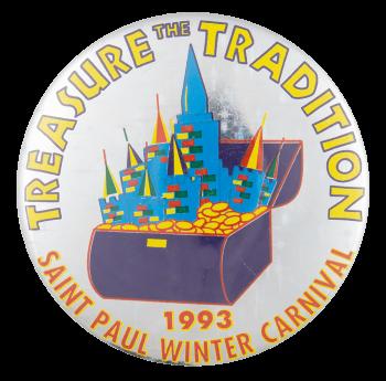 Treasure the Tradition Event Button Museum