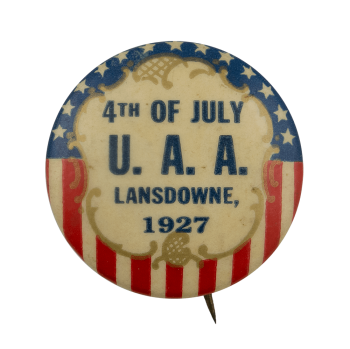 U. A. A. 4th of July Event Busy Beaver Button Museum