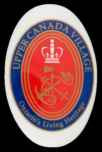 Upper Canada Village Event Button Museum