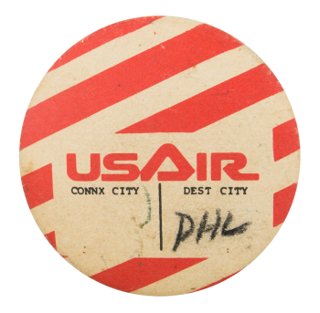 US Air Philadelphia Event Button Museum