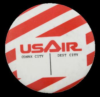 US Air Destination Event Button Museum