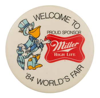 Welcome to '84 World's Fair Event Button Museum