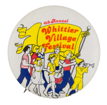 Whittier Village Festival Event Button Museum
