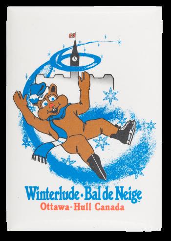 Winterlude Bal De Neige  Event Button Museum