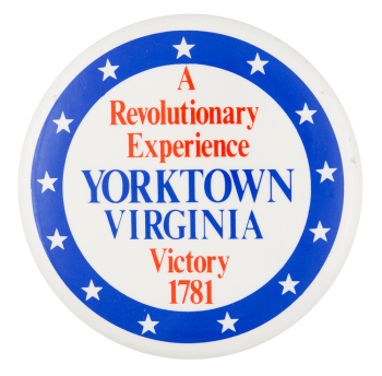 Yorktown Virginia Event Button Museum