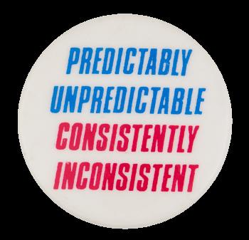 Predictably Unpredictable Humorous Button Museum