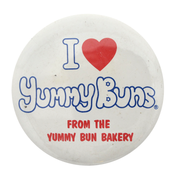 I Heart Yummy Buns  I heart button museum