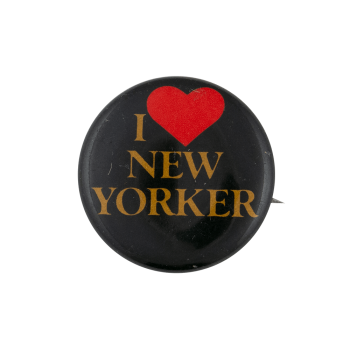 I Love New Yorker I ♥ Buttons Busy Beaver Button Museum
