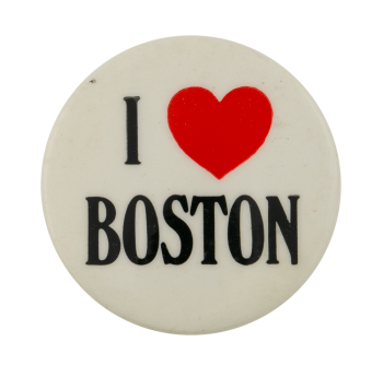 I Love Boston I ♥ Buttons Busy Beaver Button Museum