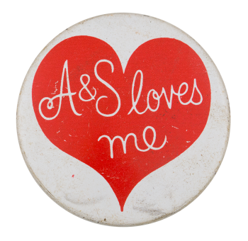 A&S Loves Me I ♥ Buttons Button Museum