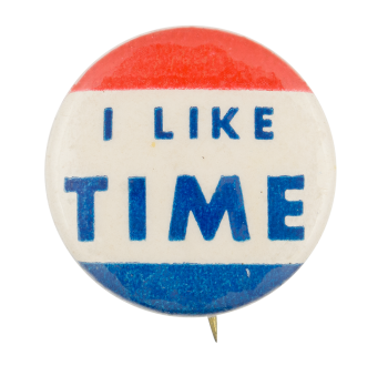 I Like Time Ice Breakers Button Museum