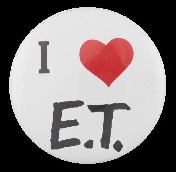 I Love E.T. I Heart Button Button Museum