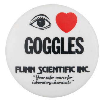 I Love Goggles I Heart Buttons Button Museum