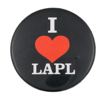 I Love LAPL I Heart Button Museum