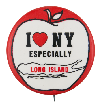 I Love New York Especially Long Island I Heart Buttons Button Museum