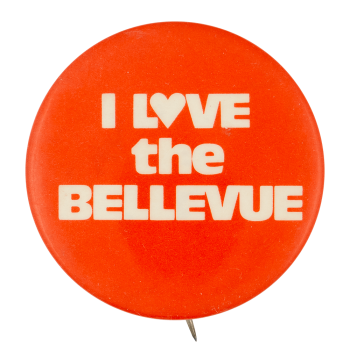 I Love the Bellevue I Heart Buttons Button Museum