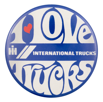 I Love Trucks I Heart Buttons Button Museum