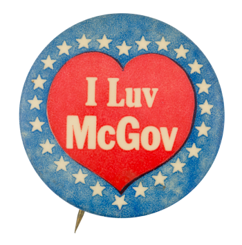 I Luv McGov  I Love Buttons Button Museum