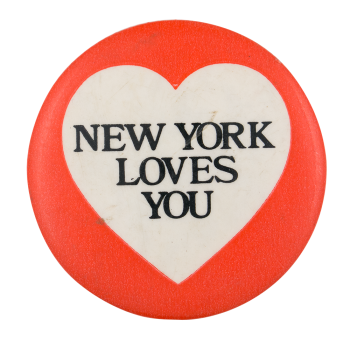 New York Loves You I ♥ Buttons Button Museum