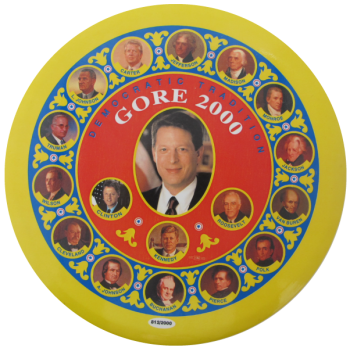 Democratic Tradition Gore 2000 Political Button Museum