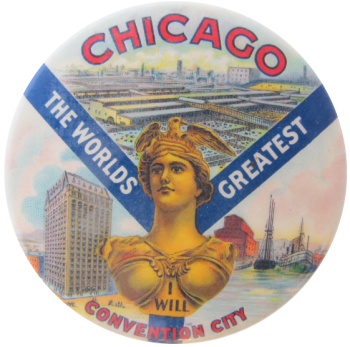 World's Greatest Convention City Chicago Busy Beaver Button Museum