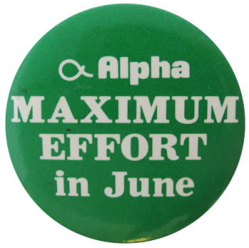Maximum Effort In June, Events, Button Museum