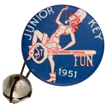 Junior Key Fun Event Button Museum