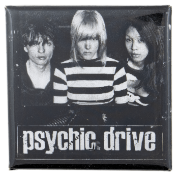Psychic Drive Music Busy Beaver Button Museum