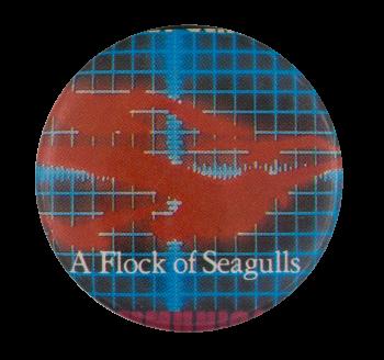 A Flock of Seagulls Telecommunication Music Button Museum