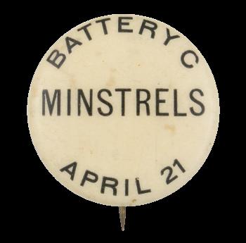 Battery C Minstrels Music Button Museum