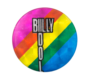 Billy Idol Music Button Museum