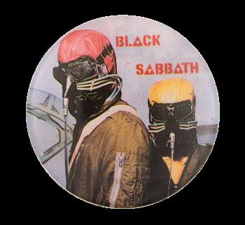 Black Sabbath Never Say Die Music Button Museum