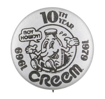 Creem Magazine Event Button Museum