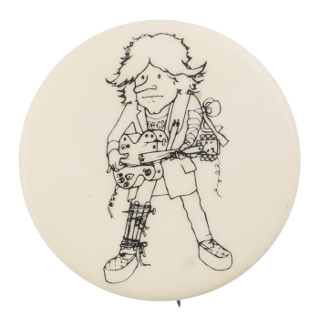 Dave Edmund Twangin Music Button Museum