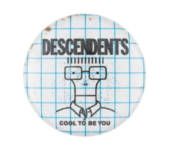 Descendents Cool to Be your Music Button Museum