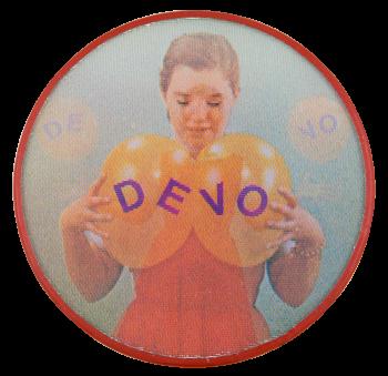 Devo Music Button Museum