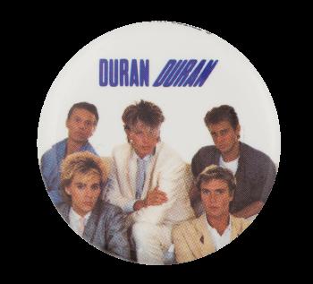 Duran Duran Three Music Button Museum