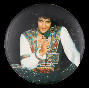 Elvis Jumpsuit Music Button Museum