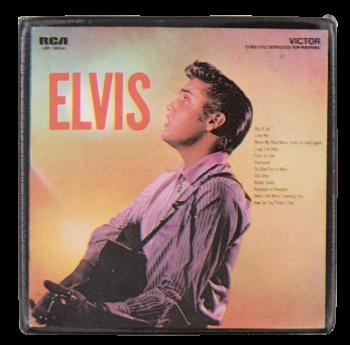 Elvis Presley No. 2 Music Button Museum