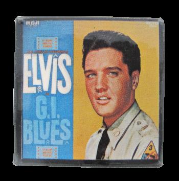 Elvis GI Blues Music Button Museum