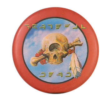 Grateful Dead Terrapin Station Music Button Museum