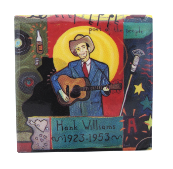 Hank Williams Poet of the People Music Button Museum