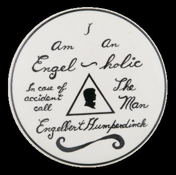 I am an Engel-holic Music Button Museum