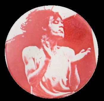 Iggy Pop Music Button Museum