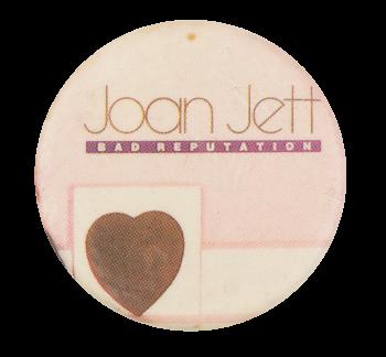 Joan Jett Bad Reputation Music Button Museum