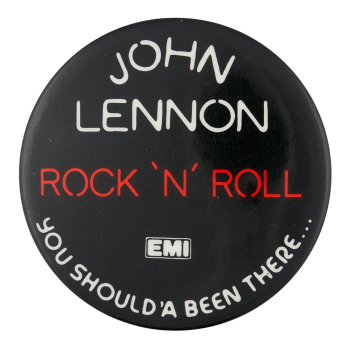 John Lennon Rock N Roll Music Button Museum
